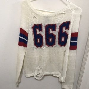 Unif 666 knitted sweater